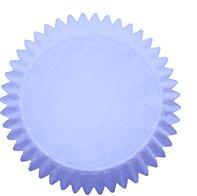 100pack Cakesupplyshop Packaged Baby Blue Mini Cupcake Liners Baking - Liners Blue Mini Cupcake