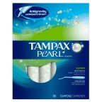 Tampax Pearl Tampon Spr Unscnt 18 Ct