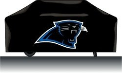 - Hall of Fame Memorabilia Carolina Panthers NFL Deluxe Grill Cover with Protective Lining