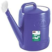 Actionware Plastic Unbreakable Watering Can for Plants, 5L (Agriculture zari, Blue, Green, Red and Pink)