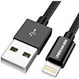 UNBREAKcable iPhone Ladekabel 1M [MFi Zertifiziert] Lightning Kabel auf USB...