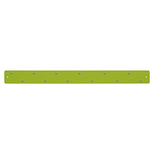 Three By Three Seattle Magnetic Strip Bulletin Board, Spring Green (31188)
