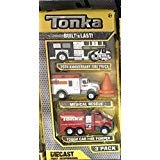 Tonka FIRST RESPONDERS Diecast Bodies 3 Pack -70TH ANNIVERSARY SILVER FIRE TRUCK, MEDICAL RESCUE & TOUGH CAB FIRE PUMPER