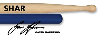 Vic Firth SHAR Gavin Harrison Signature Drumsticks - Promo Pack Cymbal