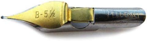 Speedball Round Pen Nibs B-5 1//2 box of 12