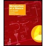 img - for Metabolism at a Glance by Salway,J. G.. [1999,2nd Edition.] Paperback book / textbook / text book