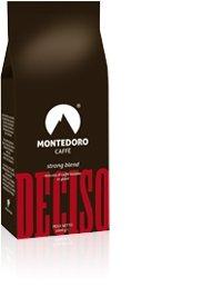 Montedoro Deciso - Coffee Beans - 6 Bag of 2.2lb Each!