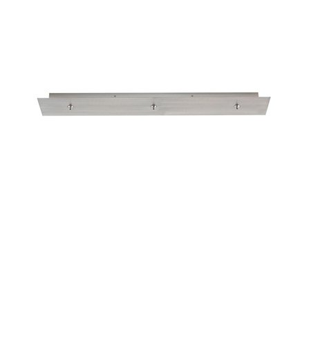 LBL CK003RL-FJ-MTSC Fusion Jack 3 Light Rectangle Long Canopy