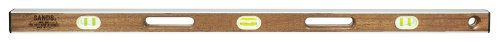 - Sands Level & Tool  SLMA48 48-Inch Professional Mahogany I-Beam Level, Mahogany