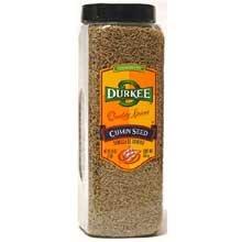 Durkee Whole Cumin - 16 oz. container, 6 per case