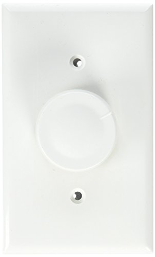 Morris 82711 Rotary Dimmer, Single Pole, Turn On/Off, White