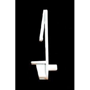 Rev-A-Shelf RAS 305-58-010-1 5/8'' Locking Shelf Clip, White