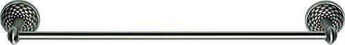 Atlas Homewares MANTB18-BRN Mandalay Collection 18-Inch Towel Bar, Brushed -
