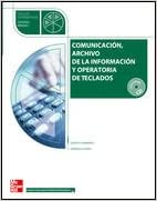 Comunicación archivo de la información y operatoria y de ...
