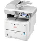 Oki MB470 LED Multifunction Printer - Monochrome - Plain Paper Print - - Oki Industry Electric Co