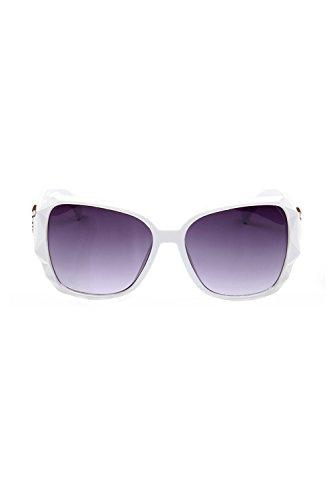 Mujeres Proteccion Blanco Las De Gafas UV De Sol 100 Gran Polarizadas Tamaño Clasico gqwqOC