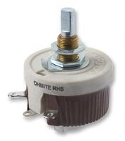 OHMITE RHS50RE RHEOSTAT, WIREWOUND, 50 OHM, 25W by Ohmite