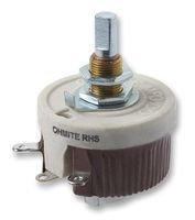 OHMITE RJS225E RHEOSTAT, WIREWOUND, 225 OHM, 50W