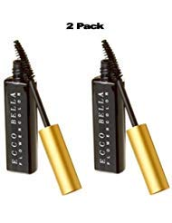 Ecco Bella FlowerColor Mascara, Black .38 Ounce (Pack of 2)