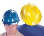 Topgard Protective Caps & Hats, Fas-Trac Ratchet, Hat, White (8 Pack) ()