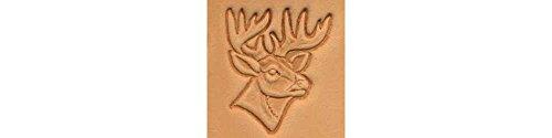 Tandy Leather Deer Head Craftool 3-D Stamp 88341-00 Deer Stamps