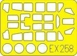 A6m5 Zero Model - Eduard Models A6M5 Zero Express Mask (For 1/48 Scale Tamiya kit)