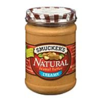 Smucker's Natural Creamy Peanut Butter 16 oz (Pack of 12) ()