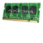 - Axiom 1 GB Memory, SODIMM 200-pin, DDR II, 667 MHz / PC2-5300 (67106H) Category: Laptop Memory