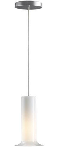 Kohler K-14472-G Purist Single Pendant, Brushed Chrome