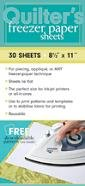 Quilters Freezer Paper Sheets Printable product image
