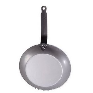 De Buyer Carbon Steel Frying Pan, Dia. - Skillet Pan French