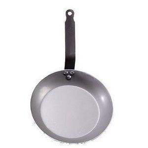 - De Buyer Carbon Steel Frying Pan, Dia. 11