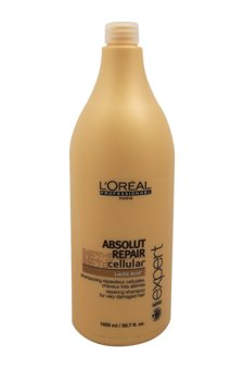 L'Oreal Professional Serie Expert Absolute Repair Shampoo - 50.7 oz by L'Oreal Paris (Image #1)