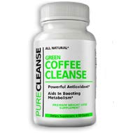 Green Coffee Cleanse Supplement Pure Cleanse – Colon Cleanse Metabolism Dietary Supplement - Metabolic Maintenance and Powerful Antioxidant - 60 Capsules