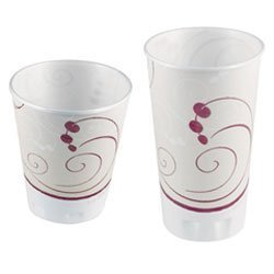 Solo Cup Company Trophy - SOLO Cup Company Trophy Plus Dual Temperature Insulated Cups in Symphony Design by Solo USA