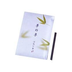 Bamboo Leaf Stick Incense - Nippon Kodo Yume-No-Yume (Dream of Dreams), tea green, sticks