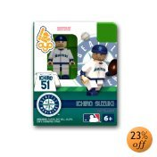 (MLB Building-Toy Figure MLB Player: Seattle Mariners - Ichiro Suzuki)