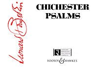 Boosey and Hawkes Chichester Psalms Boosey & Hawkes Scores/Books Series Softcover Composed by Leonard Bernstein (Bernstein Chichester Book Music Psalms)