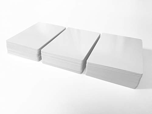 Apostrophe Games Dry Erase Blank Cards (Poker Size) (162 Cards) -