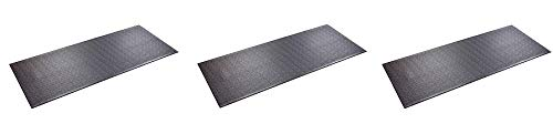SuperMats High Density Commercial Grade Solid Equipment Mat 29GS Made in U.S.A. for Large Treadmills Ellipticals Rowers Water Rowing Machines Recumbent Bikes and Exercise Equipment (3)