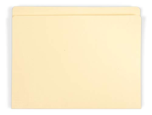 Gaylord Archival Archival-Quality Letter Size File Folders w/Reinforced Full 1 Tabs (25-Pack)