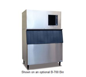 Hoshizaki IM500SAA 44'' Air Cooled Energy Star Qualified Stackable Ice Maker with 500 Lbs. Daily Ice Production EverCheck Digital Control System Durable Stainless Steel Exterior and by Hoshizaki