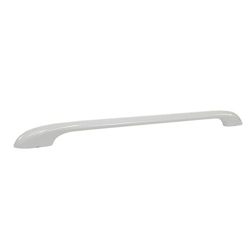 Kenmore 316443601 Range Oven Door Handle Genuine Original Equipment Manufacturer (OEM) part for Kenmore, Kenmore Elite, & U.S. Pressed Steel, White (White Handle Range)