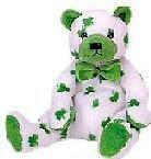 Ty Beanie Babies Clover - St. Patrick's Day Bear