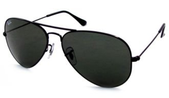 Black Aviators Ray Ban