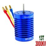 Mystery 13T 3000KV Brushless Motor for 1:10/1:12 Scale Electromotion SUV/RV Car(Blue)