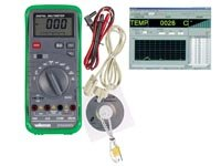 Intelligent Digital Multimeter with Data Hold, Backlight and Rs-232 Output