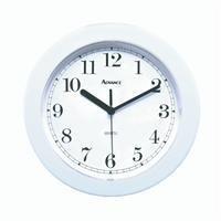 Geneva Clock Co 8001 Advance Wall Clock (White)