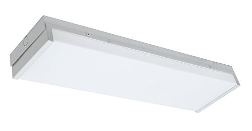 Lighting Light 5k Led 20 5000k FtDimmable FixtureWhitewpr Nicor Wh 2 Wraparound Unv PZlXwiuOkT