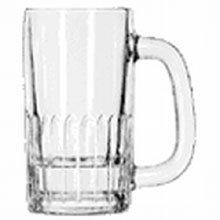 Libbey 5307 Clear 8.5 Ounce Beer Mug - 24 / CS by Libbey